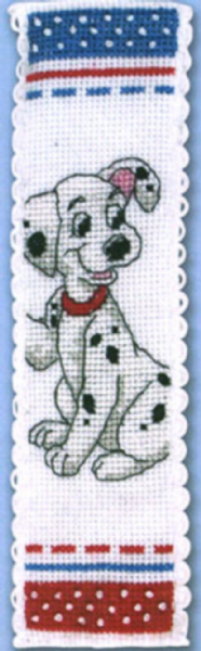 Disney Dalmatian Bookmark Cross Stitch Kit